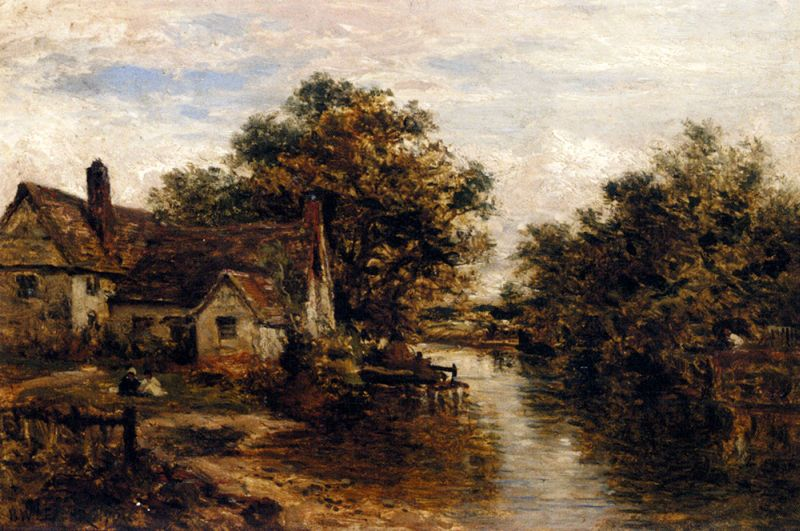 Willy Lott's House The Subject Of Constable's 'Hay Wain'