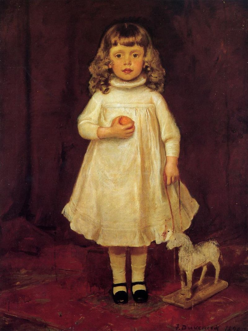 F. B. Duveneck as a Child