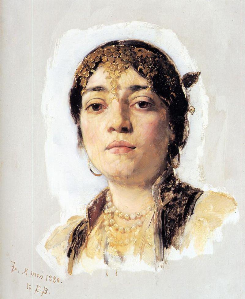 Head of an Oriental Woman