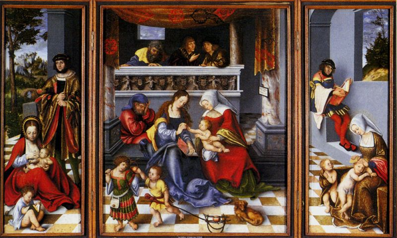 Altar Of The Holy Family (Torgau Altar)