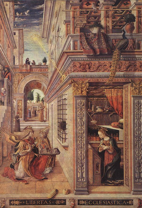 Annunciation With Saint Emidius