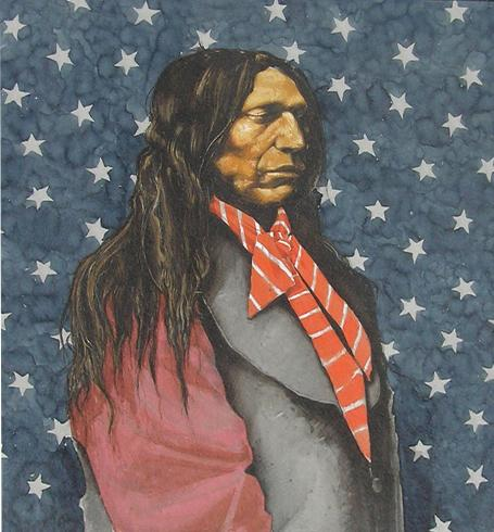 Chief Red Cloud After Zeno Schindler