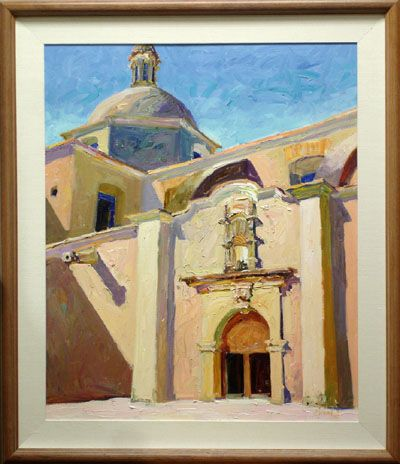 Cathedral At Alamos, Mexico