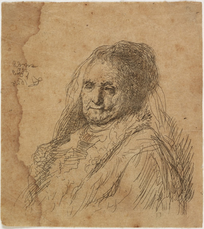 Rembrandt's Mother