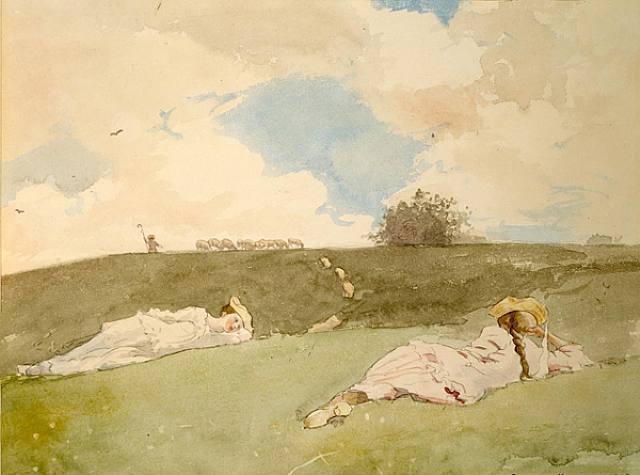 Shepherdesses Resting