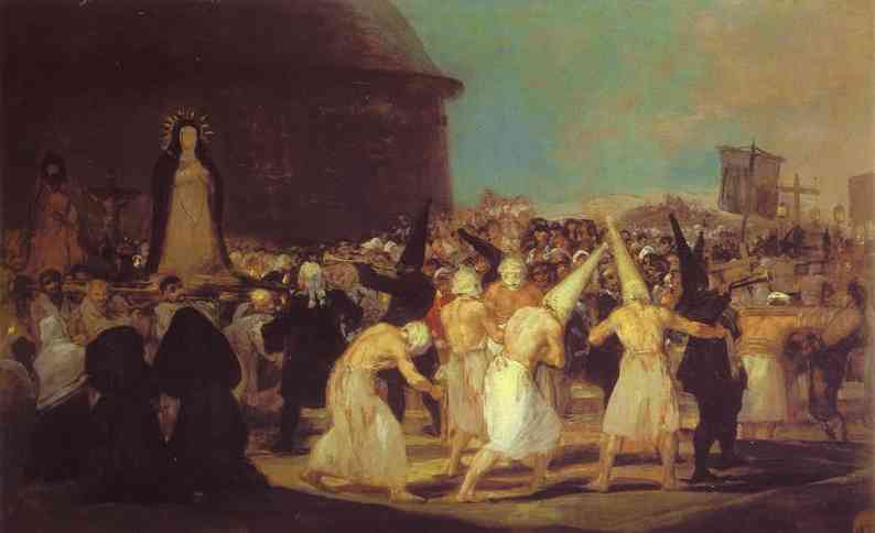 A Procession of Flagellants