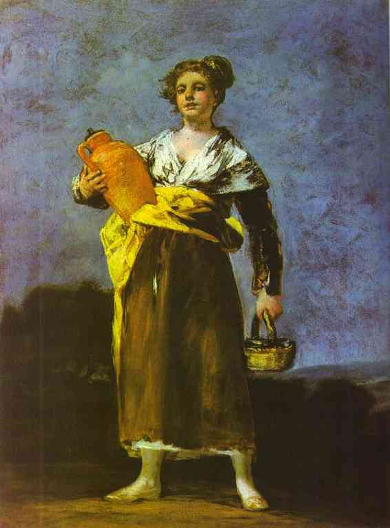 Girl With A Jug