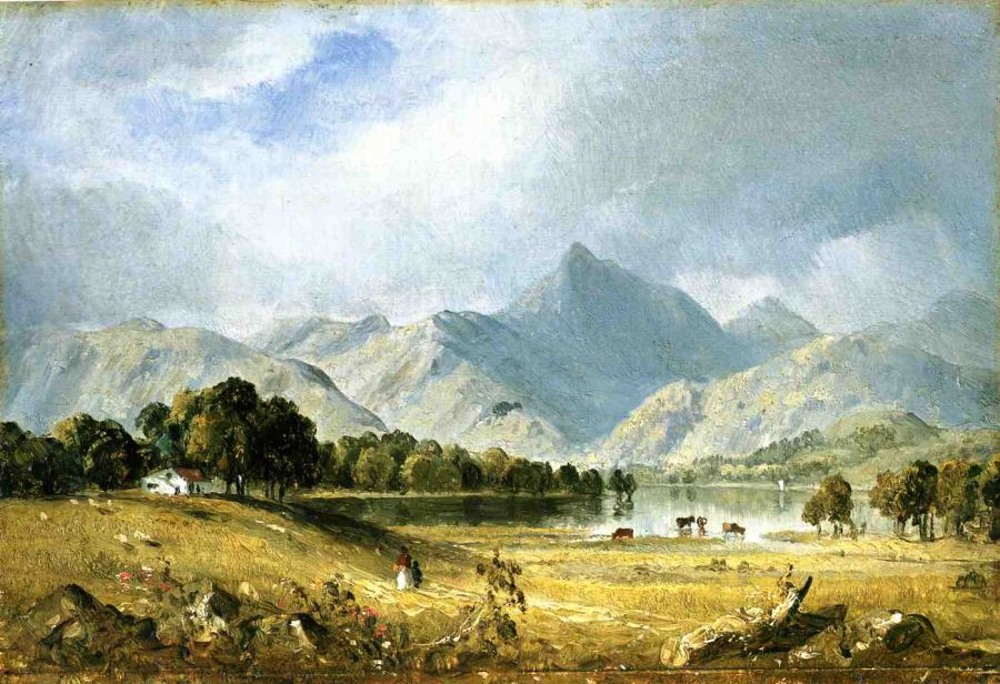 A Sketch of Derwentwater