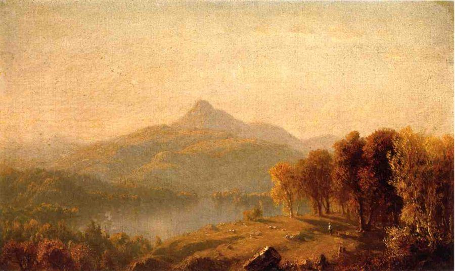 A Sketch of Mount Chocorua