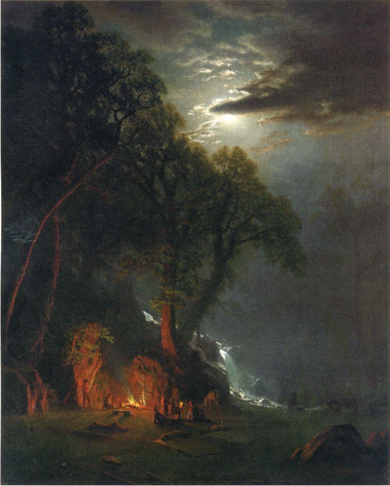Campfire Site, Yosemite