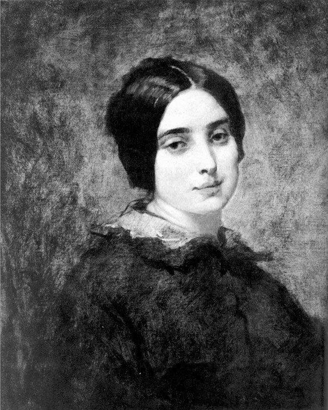 Portrait of Zelie Courbet