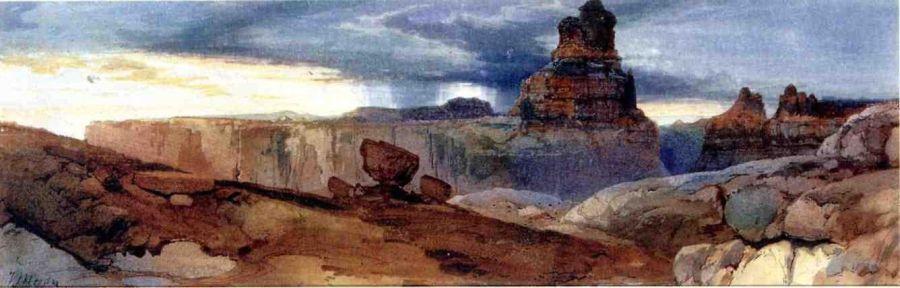 Shin Au Av Tu Weap (God Land), Canyon of the Colorado, Utah