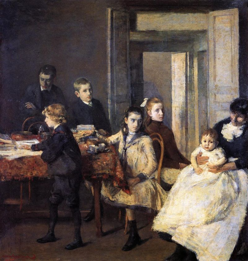 The Children of Francois van Rysselberghe