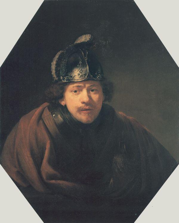 Self Portrait With Helmet