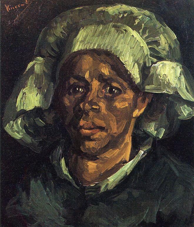 Peasant Woman, Portrait of Gordina de Groot