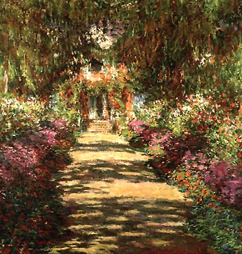 Claude Monet Avenue in the Artists Garden