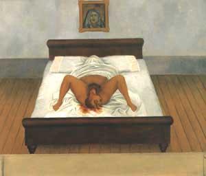 Frida Kahlo My Birth