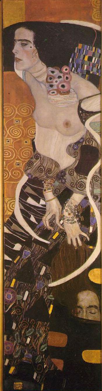 Gustav Klimt Judith II 1909