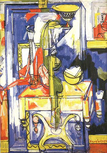 Hans Hofmann Tabla and Vases The Magic Mirror 1935