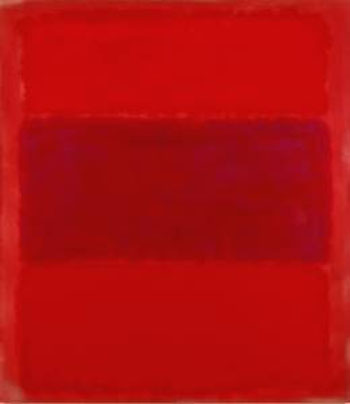 Resultado de imagem para No. 301 (Reds and Violet over Red/Red and Blue Over Red) - Rothko