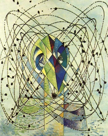 Max Ernst Young Man Intrigued by the Flight of a Non