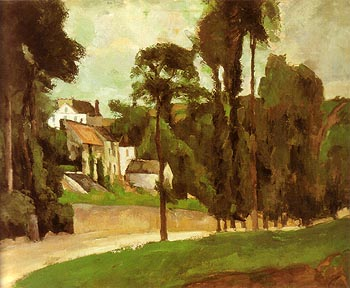 Paul Cezanne Road at Pontoise 1875