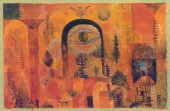 Paul Klee With the Eagle