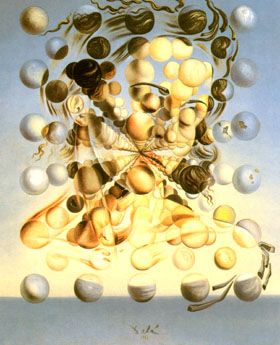 Salvador Dali Galatea of the Spheres 1952