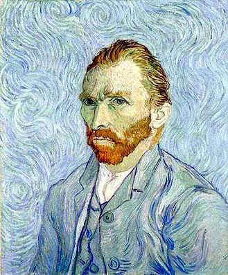 Vincent van Gogh Self Portrait St Remy