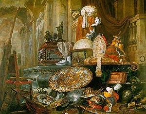 Commissions Gallery Boel, Large Vanitas Still Life