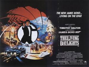 James-Bond-007-Posters The Living Daylights, 1987