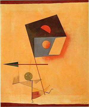 Paul Klee Conqueror 1930