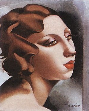 Tamara de Lempicka Portrait of a Young Lady 1928