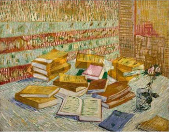 Vincent van Gogh Parisian Novels Yellow Books 1887
