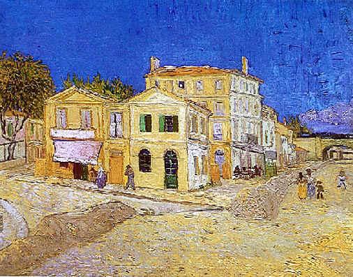 Vincent van Gogh Vincents House at Arles