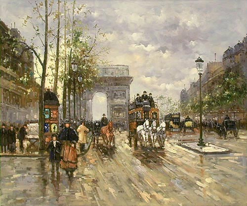 1900s Champs Elysees
