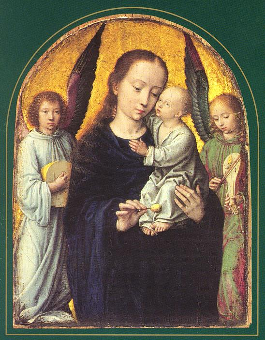 DepositionMary and Child with two Angels Making Music David Gerard