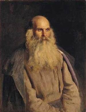 Ilya Repin Study of an Old Man