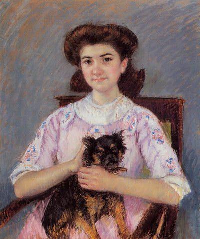 Mary Cassatt Portrait of Marie-Louise Durand-Ruel