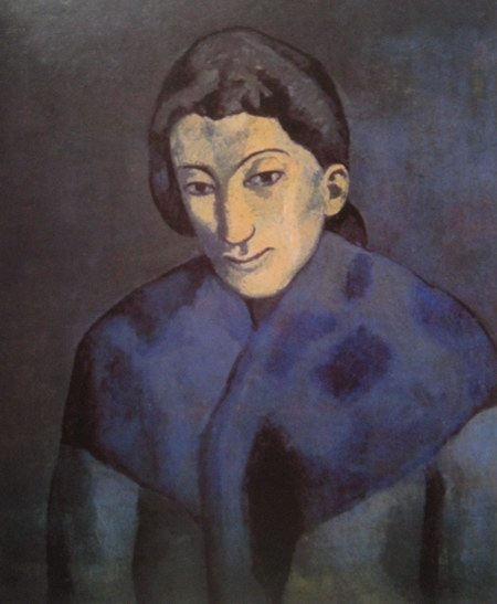 Pablo Picasso Woman with a shawl