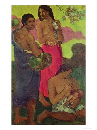 Paul Gauguin Maternity oil painting