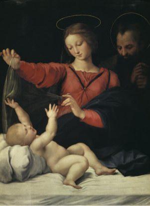 Raffaello Sanzio The Virgin of Lorette