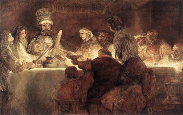 Rembrandt The Conspiration of the Bataves