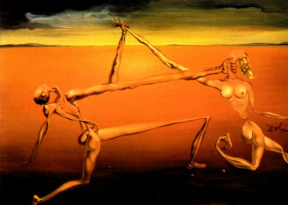 Salvador Dali dance the seven arts