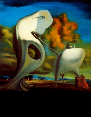 Salvador Dali the architectural angelus of millet