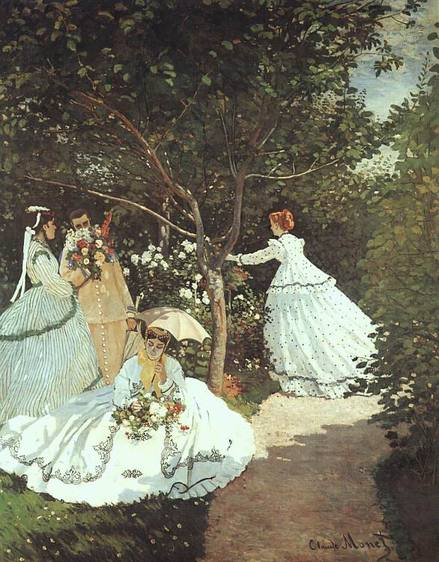 The women in the Garden Claude Monet 1866