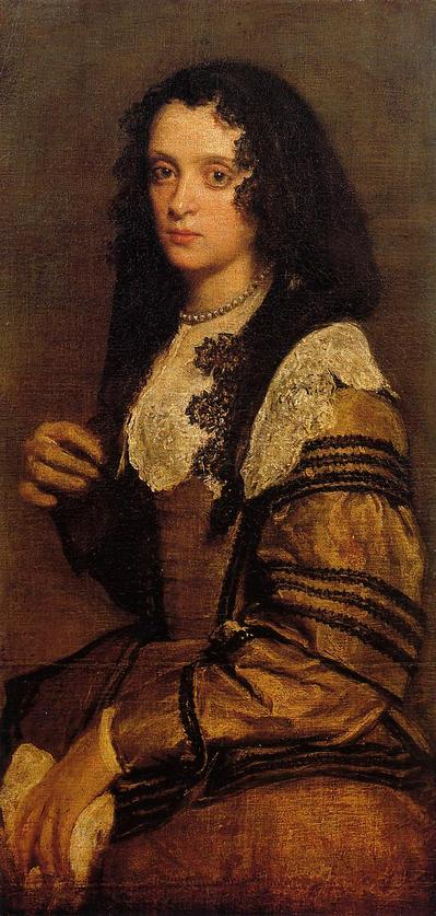 Velazquez Diego A Young Lady,oil painting reproduction
