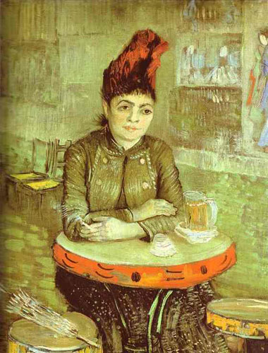 Vincent Van Gogh Agostina in the Cafe 1887