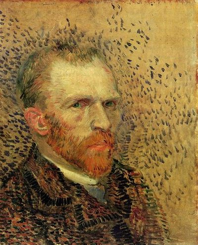 Vincent Van Gogh Self Portrait 2 1887