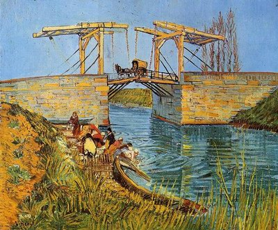 Vincent Van Gogh The Langlois Bridge at Arles 1889